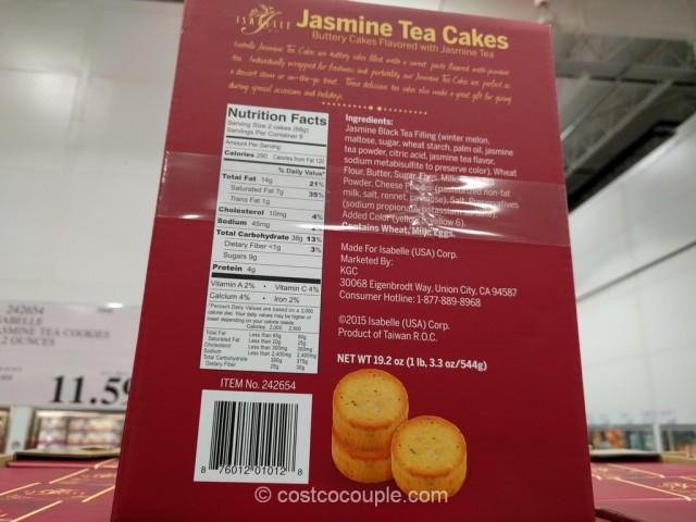 Isabelle Jasmine Tea Cakes Costco 3