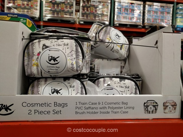 Izak Cosmetic Bags Costco 2