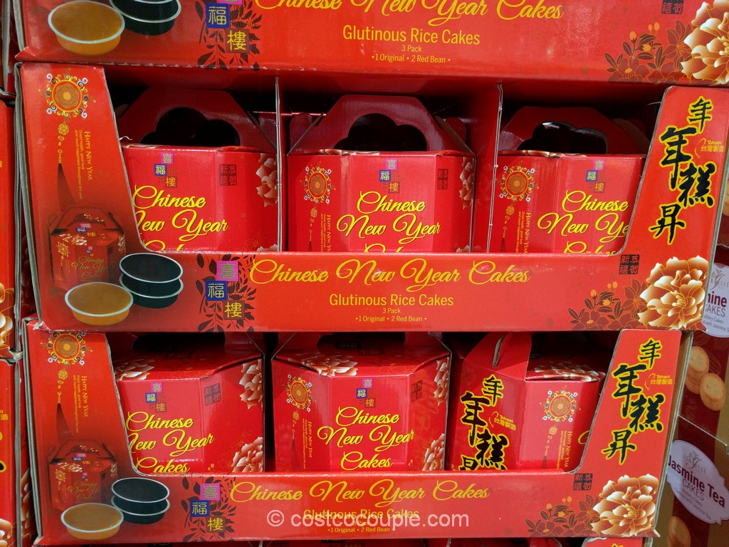 Joy Luck Palace Chinese New Year Glutinous Rice Cakes Costco 2
