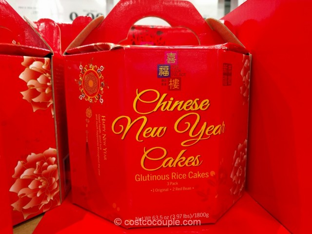 Joy Luck Palace Chinese New Year Glutinous Rice Cakes Costco 3