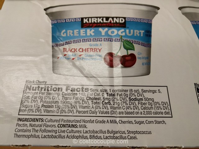 Kirkland Signature Greek Yogurt With Fruit Costco 3
