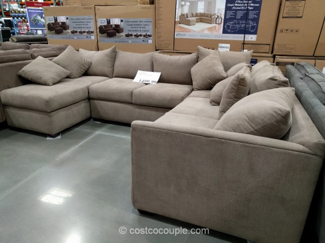 Sofa Ashley Sectional Awesome Source Klaussner 3 Piece Fabric