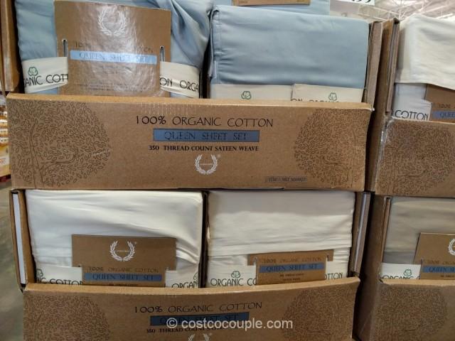 Laurel Crest Organic Queen Sheet Set