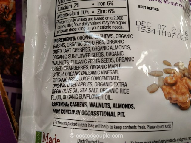 Made in Nature Organic Nut Fusion Costco 4