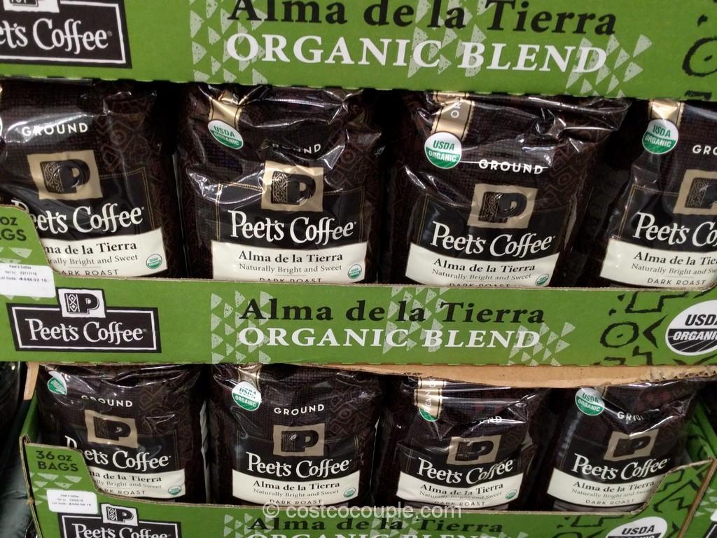 Peets Coffee Alma de la Tierra Organic Blend Costco 2