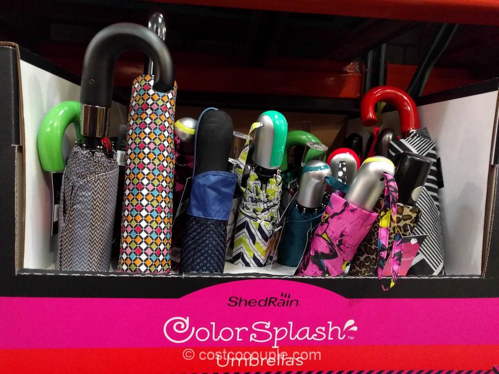 Shedrain Colorsplash Umbrella Costco 2