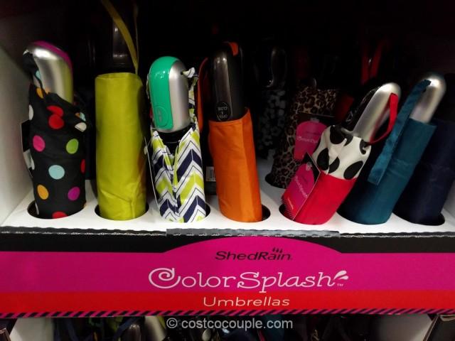 Shedrain Colorsplash Umbrella Costco 3