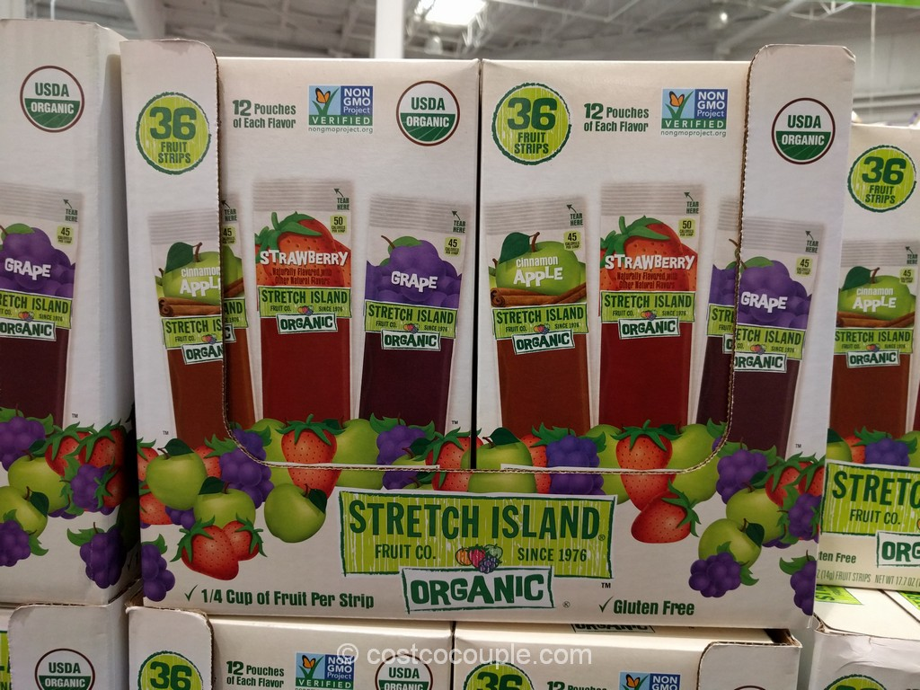 Stretch Island Organic Fruit Strips Costco 2