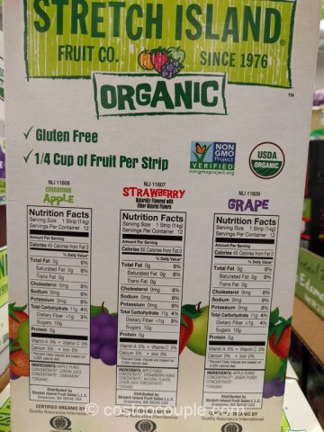 Stretch Island Organic Fruit Strips Costco 4