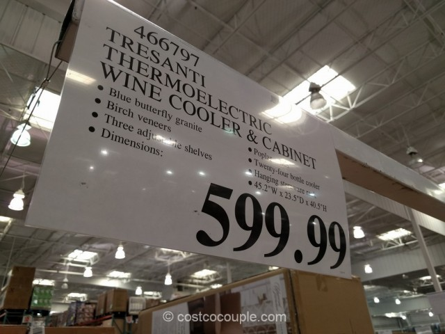 Tresanti Thermoelectric Wine Cooler And Cabinet Costco 1