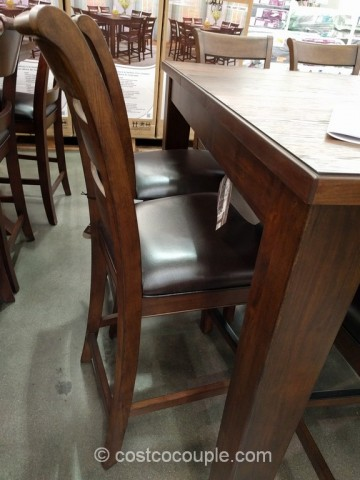 Universal Furniture 9-Piece Counter Height Dining Set Costco 4