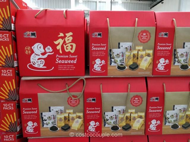 Yemat 1004 Premium Sweet Seaweed Gift Pack Costco 2