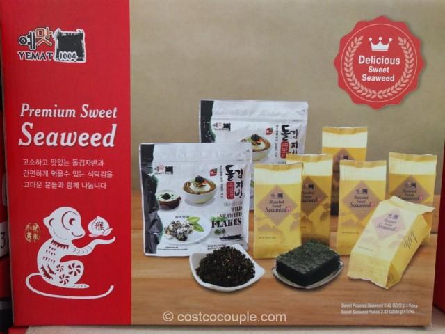 Yemat 1004 Premium Sweet Seaweed Gift Pack Costco 3