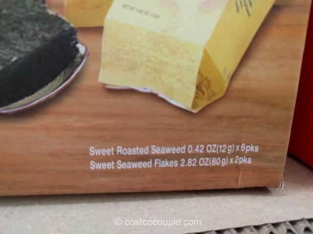 Yemat 1004 Premium Sweet Seaweed Gift Pack Costco 5