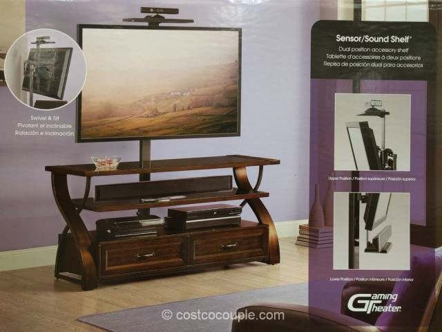Bayside Furnishings 3-in-1 TV Stand Costco 7