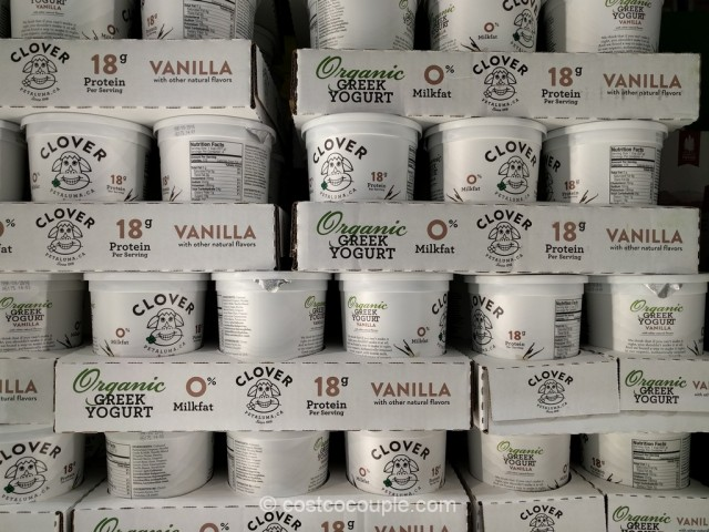 Clover Organic Greek Yogurt Costco 2