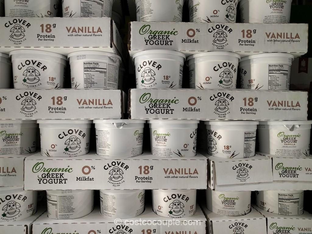 Clover Organic Greek Yogurt Costco 2
