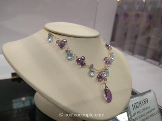 Gemstone Necklace Costco 2