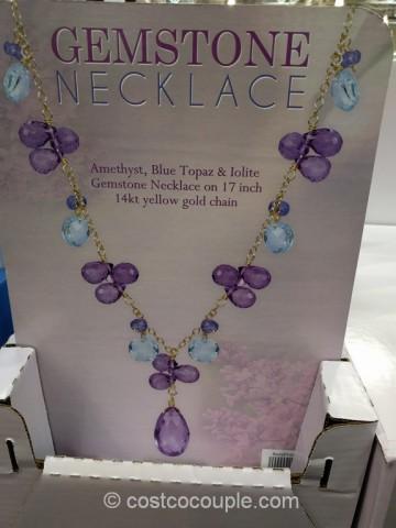 Gemstone Necklace Costco 4