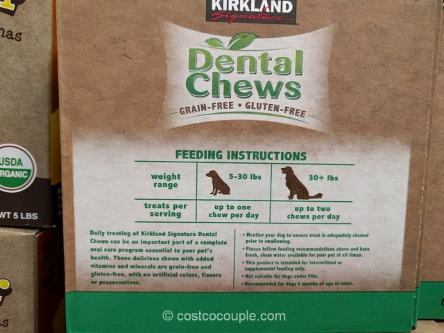 Kirkland Signature Dental Chews Costco 3