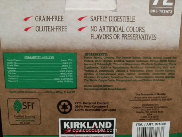Kirkland Signature Dental Chews Costco 5