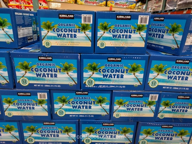 Kirkland Signature Organic Coconut Water Costco 1