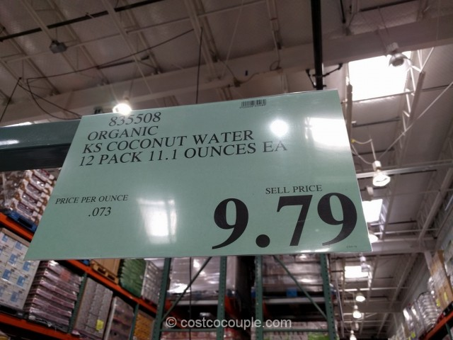 Kirkland Signature Organic Coconut Water Costco 3