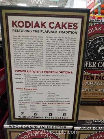Kodiak Cakes Flapjack and Waffle Mix