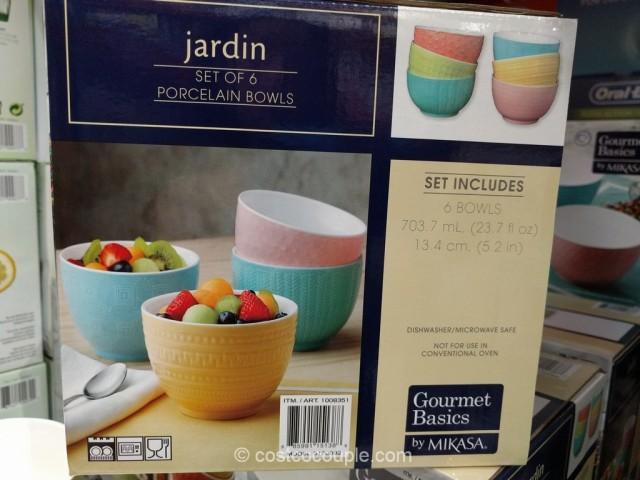 Mikasa Jardin Textured Bowls Costco 2