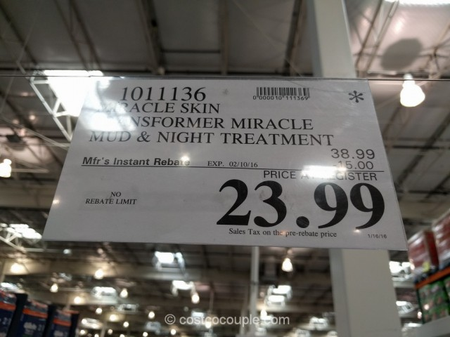 Miracle Skin Transformer Miracle Spa Treatment Costco 1