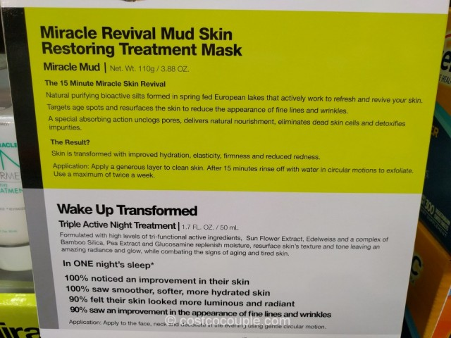 Miracle Skin Transformer Miracle Spa Treatment Costco 4