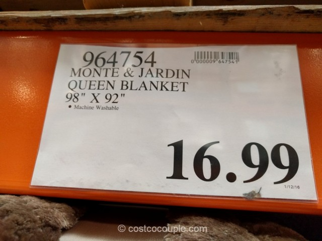 Monte And Jardin Jacquard Queen Blanket