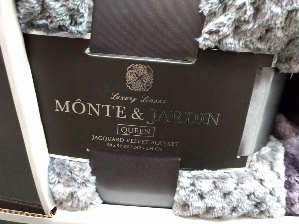 Monte And Jardin Jacquard Queen Blanket Costco 3