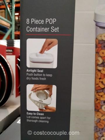 Oxo 8-Piece Pop Container Set Costco 4