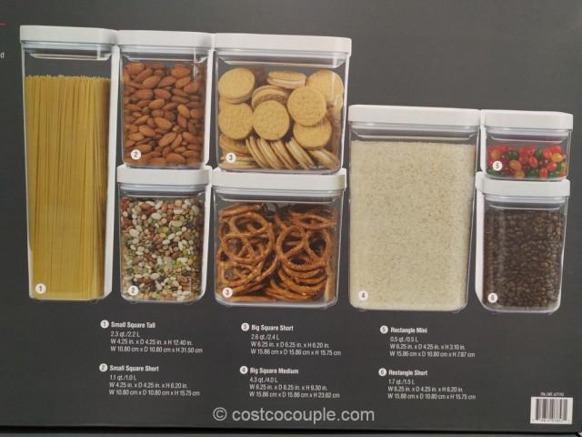 Oxo 8-Piece Pop Container Set Costco 5