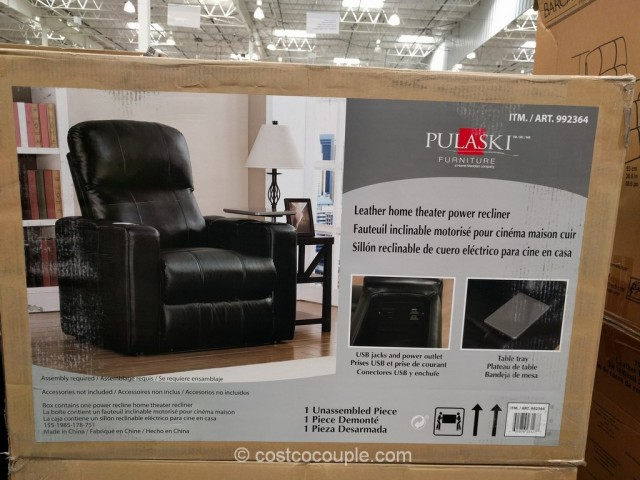 Pulaski Furniture Home Theater Power Recliner Costco 4