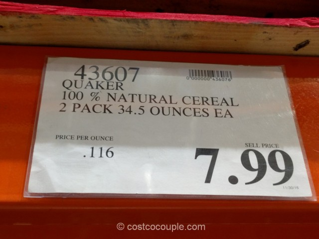 Quaker Simply Granola Costco 1