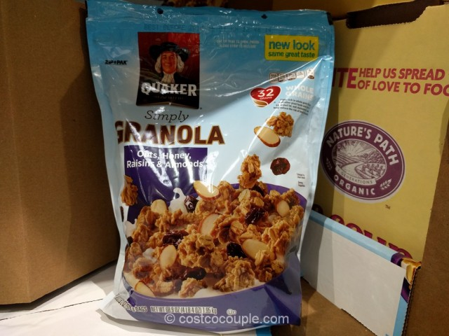 Quaker Simply Granola Costco 6