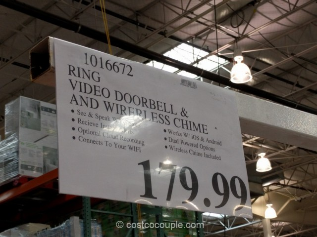 Ring Video Doorbell Costco 1