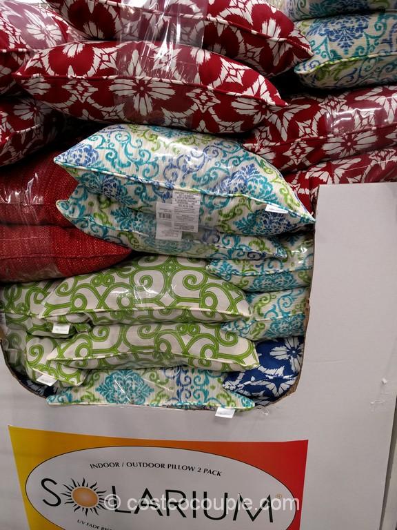 Solarium Indoor Outdoor Decorative Pillow Costco 2