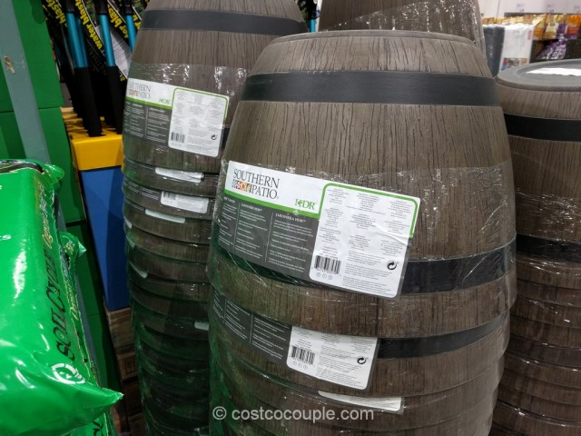 Southern Patio Wine Barrel Planter Costco 2