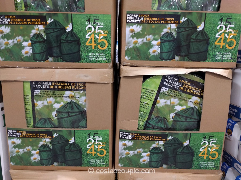 Stylecraft Collapsible Lawn Bags Costco 2