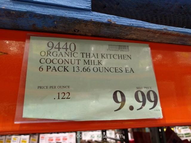 Thai Kitchen Organic Coconut Milk Costco 1
