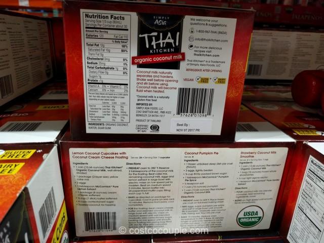 Thai Kitchen Organic Coconut Milk Costco 4