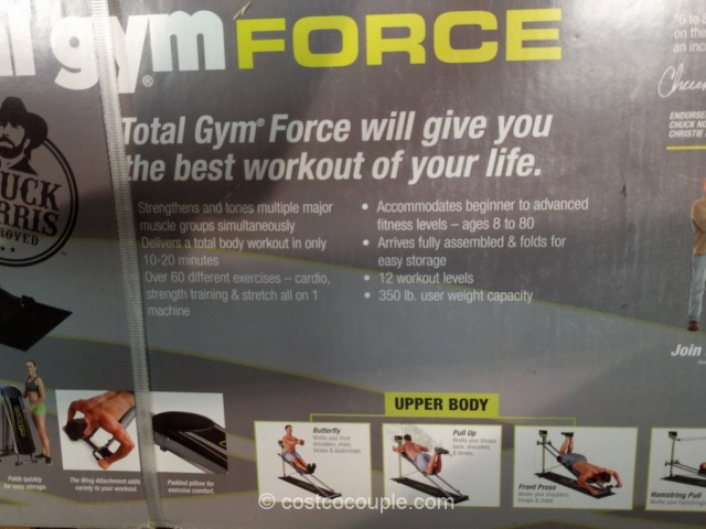 Total Gym Force Costco 5