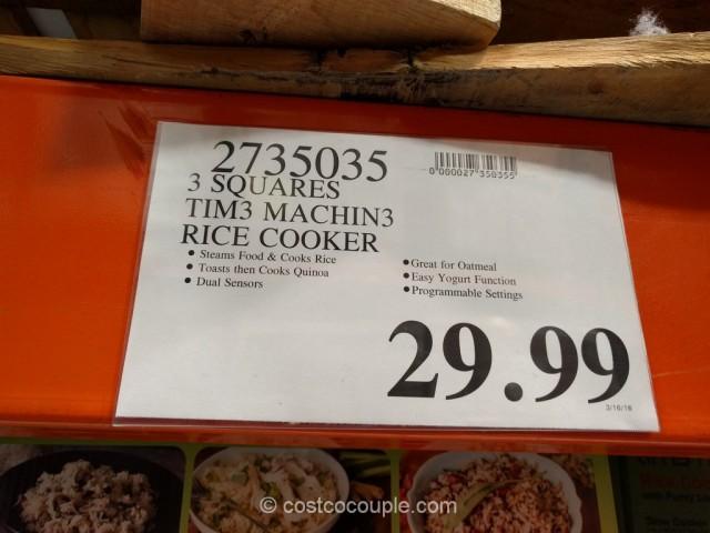 3 Squares Tim3 Machin3 Rice Cooker Costco 1