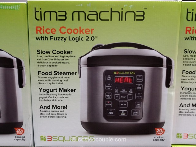 3 Squares Tim3 Machin3 Rice Cooker Costco 3