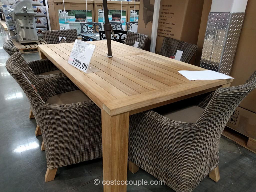 ... Designing Teak Patio Furniture Costco Design For Interior Decor ...  Costco Patio Set