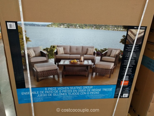 Agio International 6-Piece Deep Seating Set Costco 5
