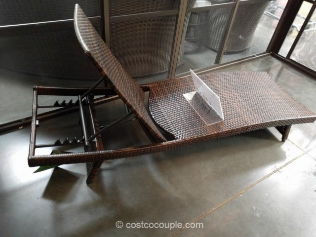 Wicker lounge chairs costco chaise lounge chair lovely for Agio international chaise lounge